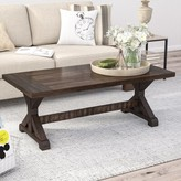Laurèl Mcwhorter Trestle Coffee Table Foundry Modern Farmhouse