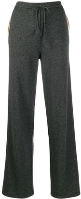 Parker Chinti & strip panelled track trousers