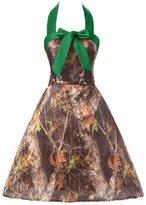 Gorgeous Bridal Camo Mini Halter Wedding Party Homecoming Dress 20 - US