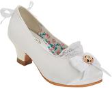 China Doll White Damiana Dress Shoe