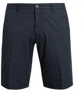 J.w.brine J.W. BRINE Free Donnie striped cotton shorts