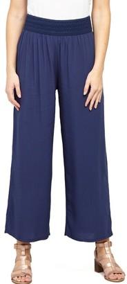 M&Co Izabel wide leg casual trousers