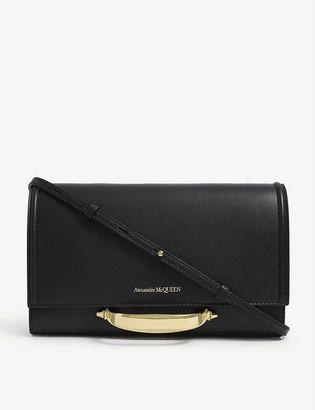 Alexander McQueen Story leather cross-body bag