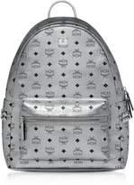 Mcm Berlin Silver Side Studs Visetos Stark Backpack 40