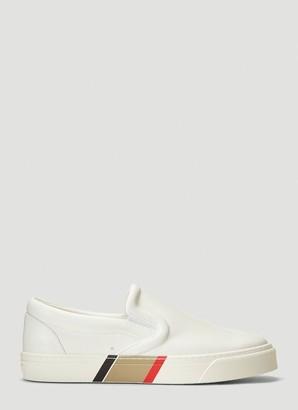 Burberry Bio-Based Slip-On Sneakers