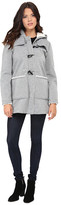 Jessica Simpson Fleece Duffle Coat with Hood