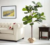 Pottery Barn Faux Potted Fiddle Leaf Tree