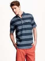 Old Navy Short-Sleeve Popover Shirt for Men
