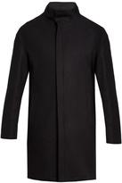 Giorgio Armani Wool-blend overcoat