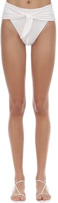 WeWoreWhat Riviera High Waist Bikini Bottoms