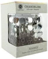 UBrands Locker Style Chandelier LED Light Decoration - Silver