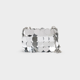 Paco Rabanne Sparkle 1969 Iconic Oversized Sequin Nano Bag In S