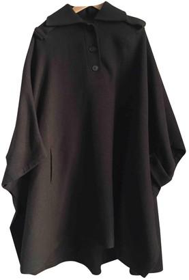 ICB Khaki Wool Coat for Women