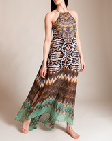 Camilla Eyasi Stillness Sheer Overlay Dress