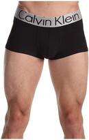 Calvin Klein Underwear Steel Micro Low Rise Trunk U2716 (Black) Men's Underwear