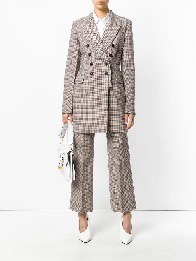 Stella McCartney Herringbone Cass coat