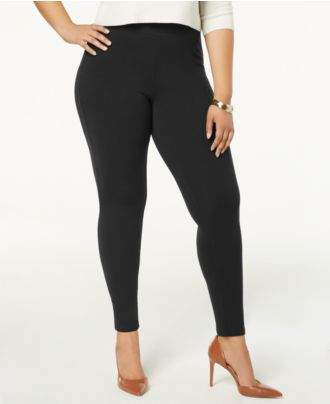 Hue Plus Size Cotton Leggings, A Macy's Exclusive