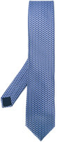 Lanvin hexagonal pattern tie