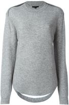 Alexander Wang slash back sweater