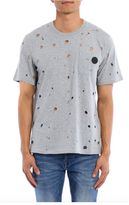 MSGM T-shirt With Rip