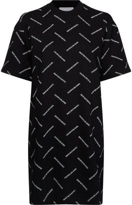 Calvin Klein Jeans Diagonal Logo Dress