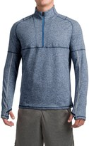Saucony Run Strong Sport Shirt - Zip Neck, Long Sleeve (For Men)