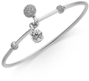 Eliot Danori Crystal Interlocking Bangle Bracelet, Created for Macy's