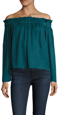 Lucca Couture Off Shoulder Blouse
