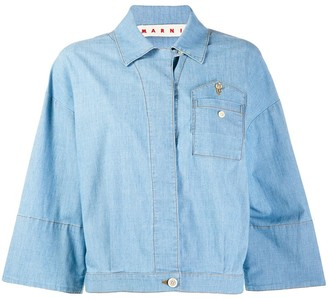 Marni Denim Bowling Shirt