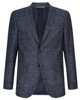 Boss Nasley Check Wool-blend Jacket