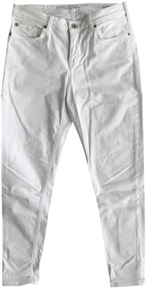 Jack Wills White Cotton - elasthane Jeans for Women