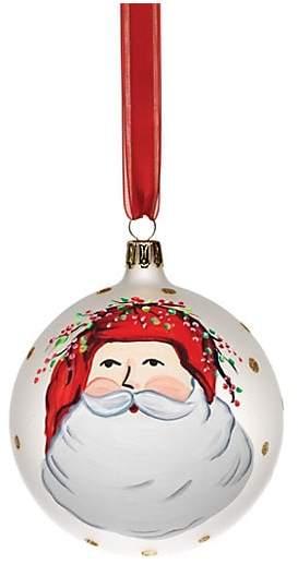 VIETRI VIETRI Old St. Nick Assorted Ornaments 4-Piece Set