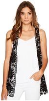 Betsey Johnson Daisy Vest Cover-Up Women's Clothing