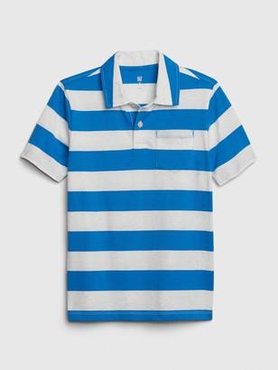 Gap Kids Stripe Polo Shirt T-Shirt