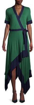 BCBGMAXAZRIA Handkerchief Wrap Dress