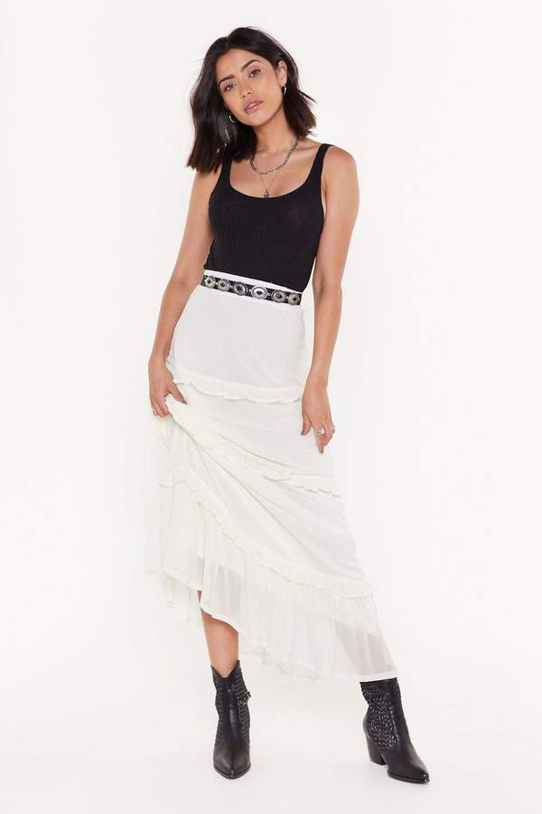c4315861c6 High Waisted Maxi Skirt - ShopStyle UK