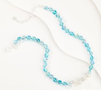 Kirks Folly Blue Ocean Mist Bubble Magnetic Necklace