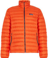 Patagonia Quilted Dwr-coated Ripstop Shell Down Jacket - Orange