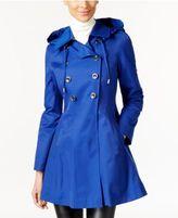 Via Spiga Skirted Hooded Raincoat