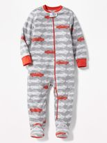Old Navy Micro Fleece Footed Sleeper for Toddler & Baby