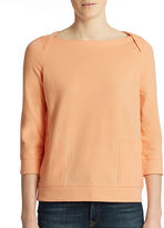 Lord & Taylor Plus Lounge Top