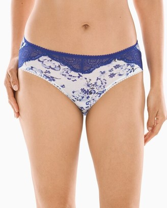 Soma Intimates Geo Lace Hipster