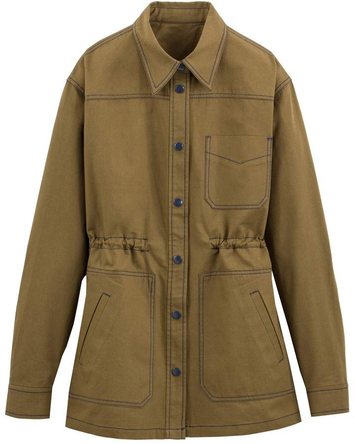 86ca4a971ac7b Women Khaki Utility Jacket - ShopStyle UK