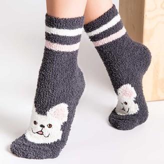 PJ Salvage Fun Socks - Frenchie Stripes