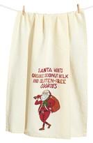 Primitives By Kathy Hipster Santa Dish Towel
