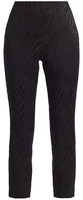 Rag & Bone Simone Zebra Print Cropped Pants