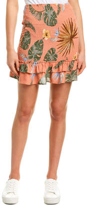 Sage The Label In Bloom Mini Skirt