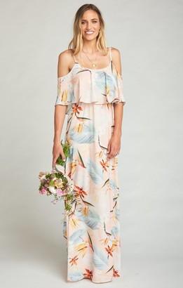 Show Me Your Mumu Caitlin Ruffle Maxi Dress