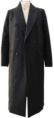Harmony Grey Wool Coat for Women