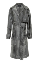 J. Mendel Fur Trench Coat